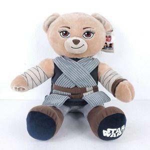 "Build A Bear Disney Star Wars Rey Bear Plush 17"""